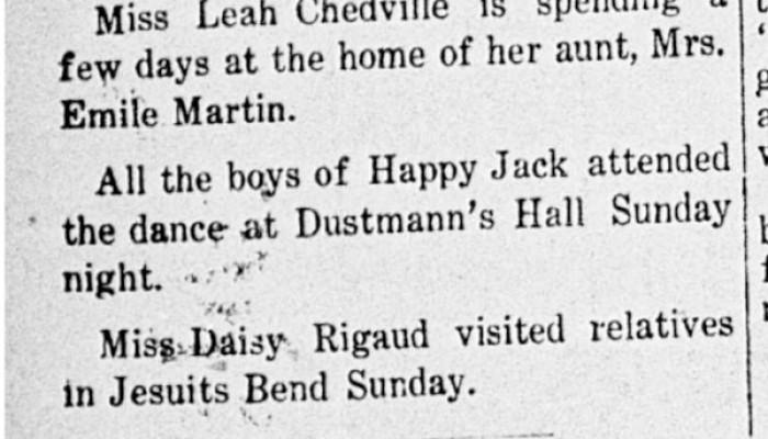 Dustmann's Dancehall
