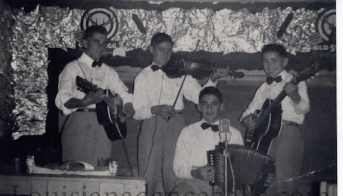 Leeman Prejean and The Happy Playboys Of Scott Leeman Prejean And The Happy Playboys Accordion Two-Step - When The Sun Is Setting