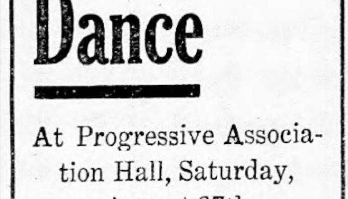 Progressive Association Hall