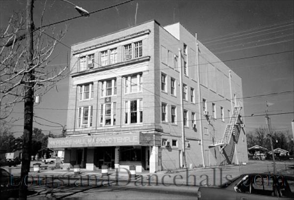 Louisiana Dancehalls Prince Hall Masonic Temple